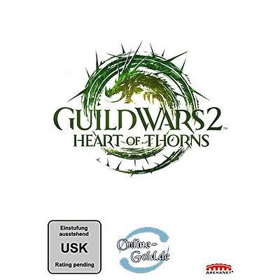 Guild Wars 2 Heart of Thorns Key - GW2 HoT Addon DLC Download Code [DE][EU][PC]