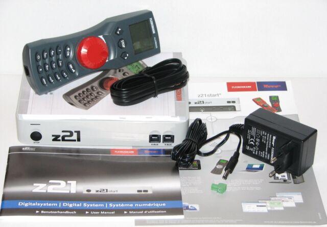 Roco / Fleischmann 10825 Digitalzentrale z21 start + Fleischmann MultiMaus - NEU