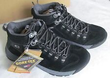NEW Clarks Ladies Goretex Black Suede Walking Boots Incite Mid GTX Size 3.5