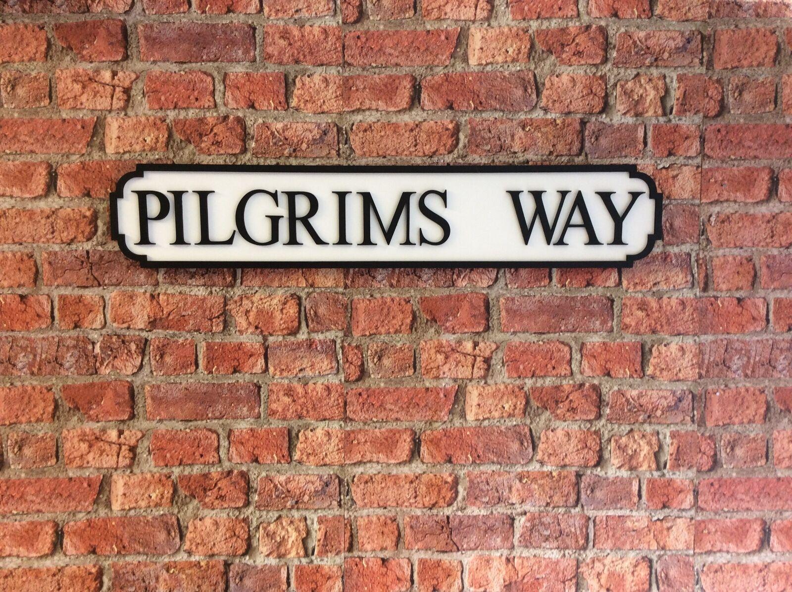 più preferenziale VINTAGE Wood Street Road sign I I I Pellegrini Modo  consegna lampo