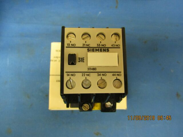 SIEMENS 3TH8031-0A CONTACTOR RELAY