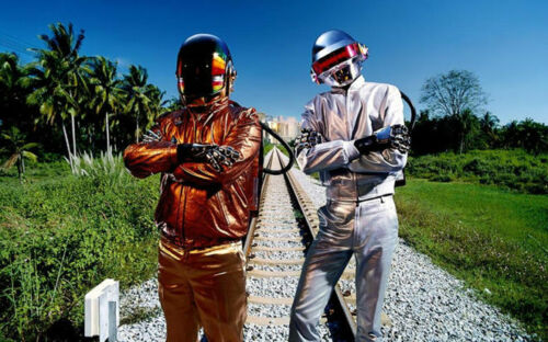 """Daft Punk DJ Pop Disco Star Wall Poster 40/""""x24/"""" D025"""
