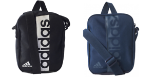 Image is loading adidas-Mens-Linear-Performance-Organiser-Shoulder-Small -Messenger- 439d8d623241e