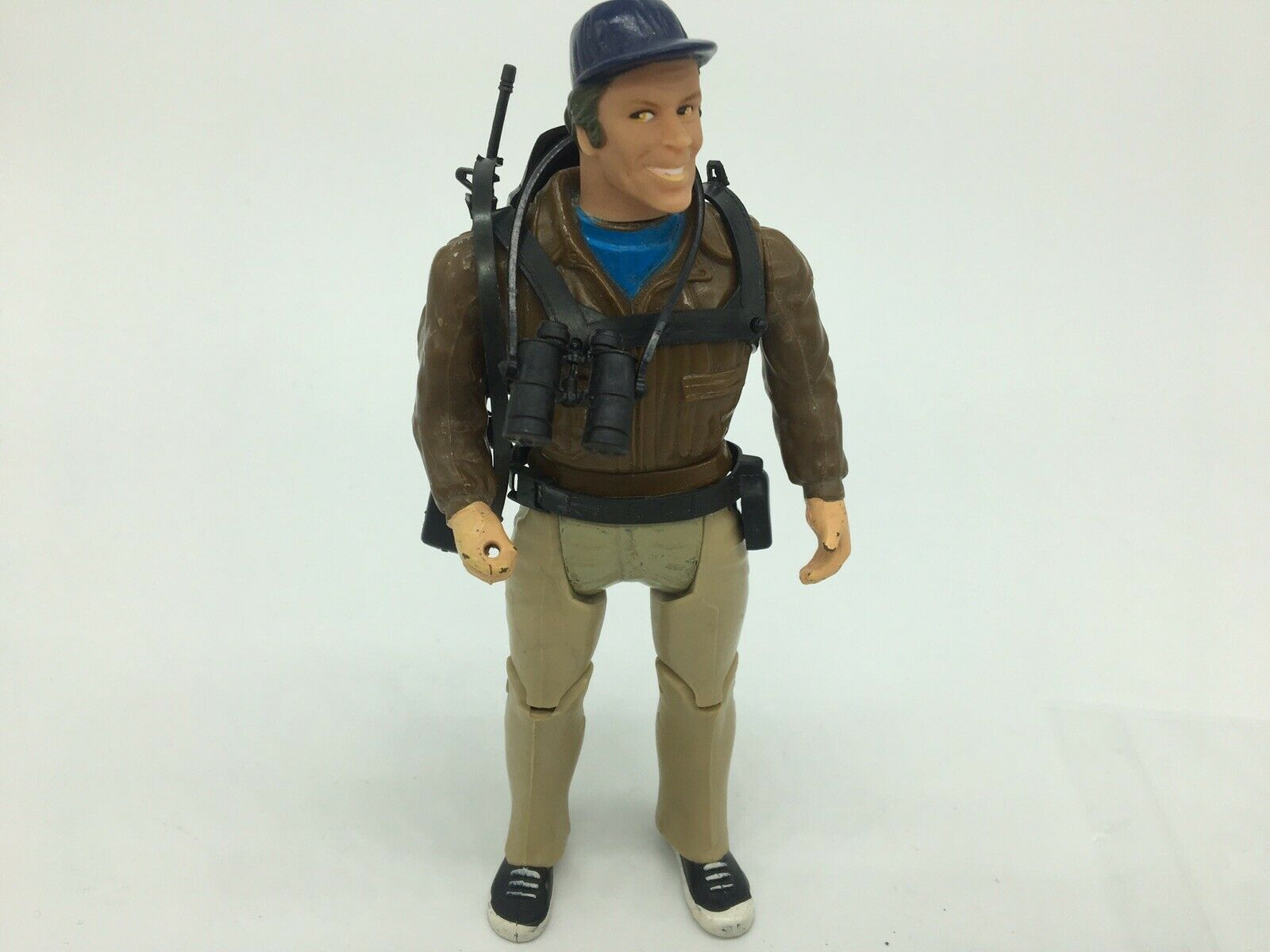 1983 The A-Team Good Guys, Action Figure, MURDOCK with Weapons, complete,MAD DOG