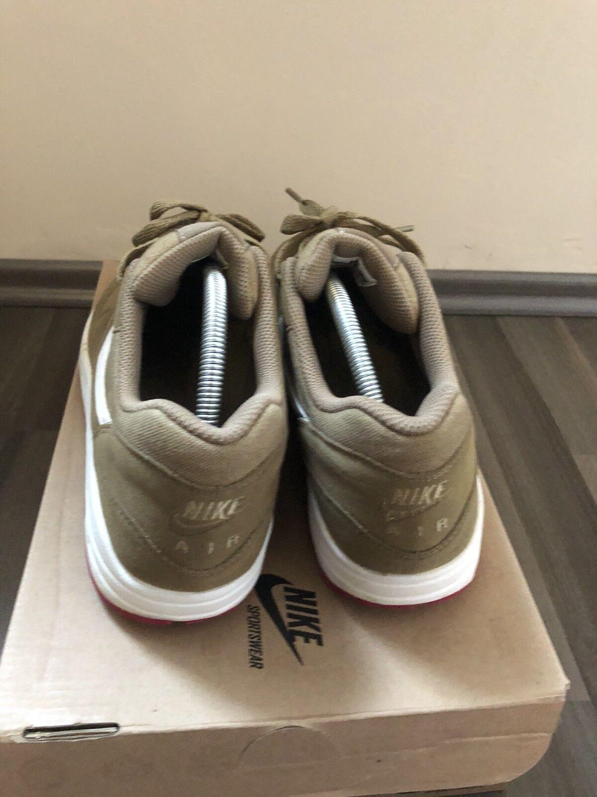 Nike Air Max 1 US9,5 Braun Kelp  Eur43, US9,5 1 Rare Top OG Box 876e3d