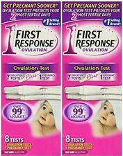2x First Response Pregnancy Ovulation Test Kit, 8 pc