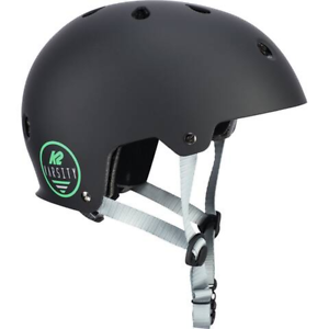 K2-Adults-In-Line-Skates-Skateboard-Helm-Varsity-Helmet-Black