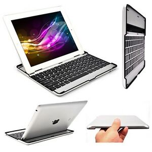 For-iPad-2-3-3rd-Gen-Aluminum-Ultra-Thin-Bluetooth-Wireless-KeyBoard-Stand-Case