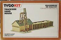 Tyco trackside Sand House Ho-scale Kit No. 7763