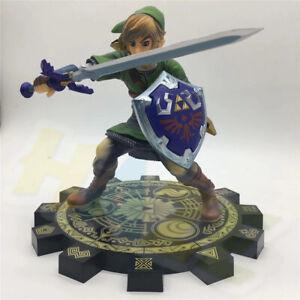 Anime-The-Legend-of-Zelda-Link-1-7-PVC-Figura-Modelo-20cm-Juguete