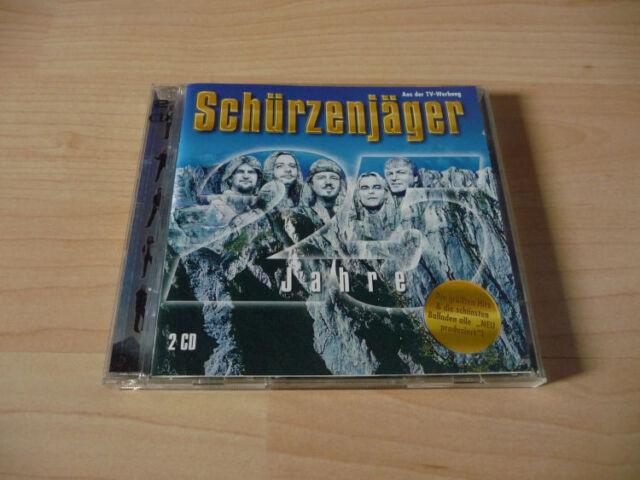 Doppel CD Schürzenjäger - 25 Jahre  - Party-Mix & Balladen