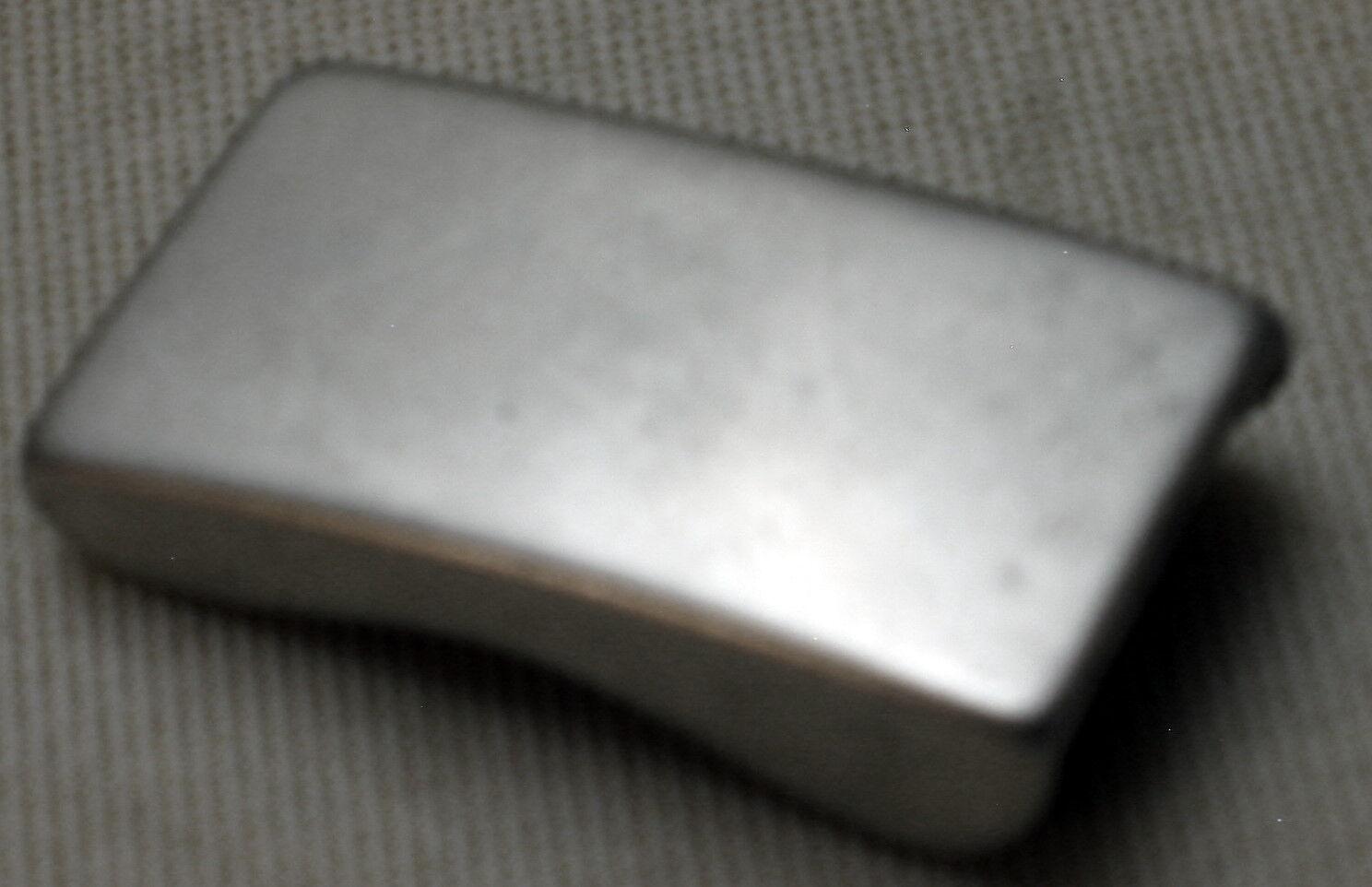 Adorno en la cintura para 20mm ancho cinturón de metal color plata elegante top chic nuevo #