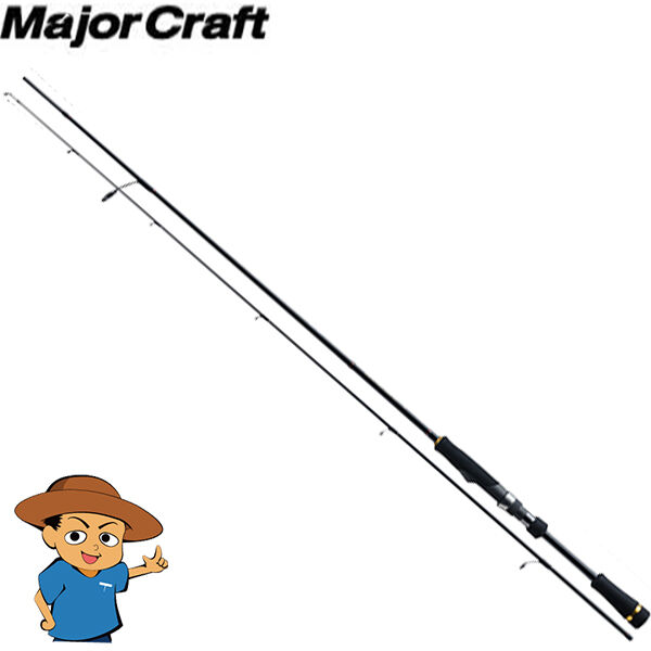Major Craft FIRSTCAST FCS-602UL Ultra Light 6' bass fishing spinning rod