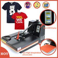 "Digital Heat Transfer Machine T-Shirt Sublimation Printer Heat Press 15"" x 15"""