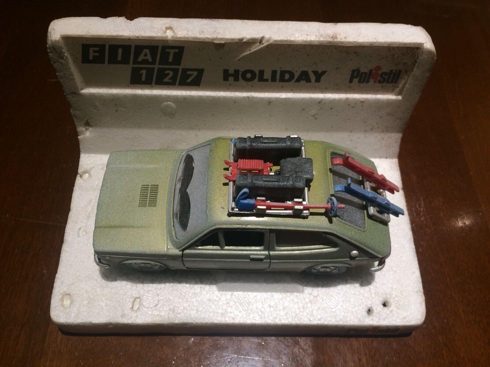 Fiat 127 Holiday  Polistil 1 25 scale.  branché