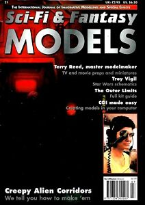 SCI-FI-amp-FANTASY-MODELS-MAGAZINE-21-THE-OUTER-LIMITS-TERRY-REED-EX-CONDITION