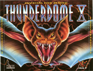 Compilation-2xCD-Thunderdome-X-Sucking-For-Blood-Spain-M-EX