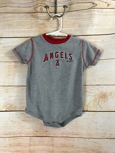 ebae76f1b Los Angeles Angels of Anaheim Baby Infant One Piece Creeper SZ 24 ...