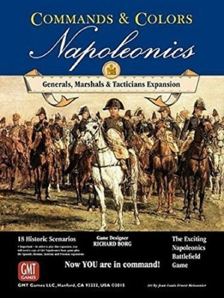 I comandi ColoreeeI napoleonics espansione generali Marshal Tacticians BOARD GAME