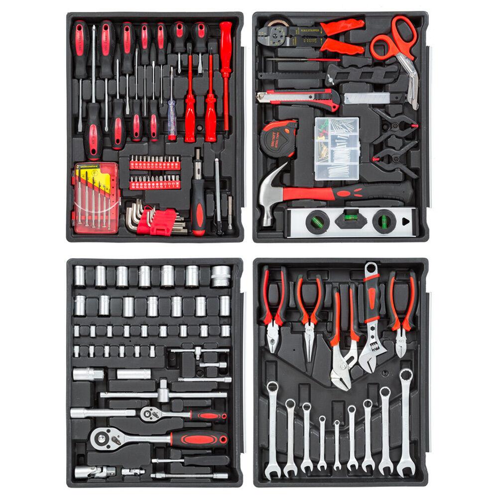 193-tlg. Werkzeugset  Mischwerkzeug Werkzeug Heimwerkerset ohne Koffer B-Ware