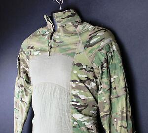 EUC 1 4 Quarter Zip Massif Multicam Army Combat Shirt Paintball ... 29f4aac7a0