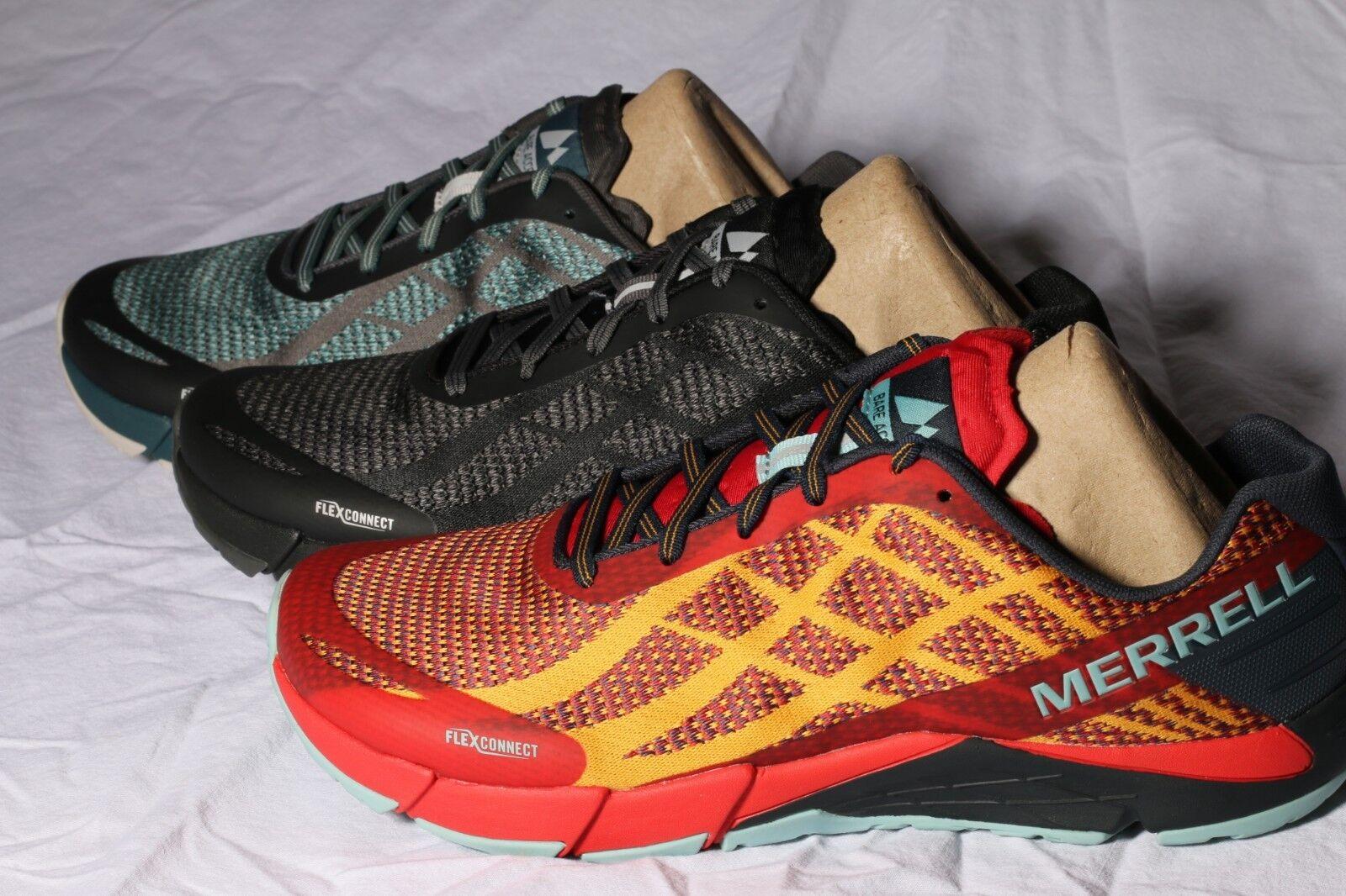 New Merrell Men's Bare Access Flex Shield Athletic shoes Size 9 M 43 EUR