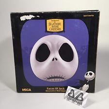 Neca Nightmare Before Christmas Faces Jack Skellington Clay Wall Mask Tim Burton