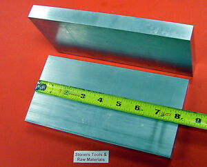 "2 Pieces 3/4"" X 4"" ALUMINUM 6061 T6511 SOLID FLAT BAR 8"" long .750"" Mill Stock"