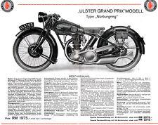 Rudge -  Motorrad-Programm - Prospekt   - 1930  - Deutsch  - nl-Versandhandel