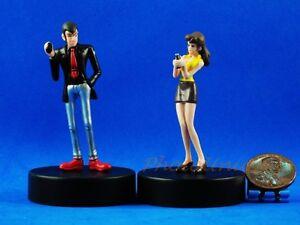 Lupin-the-Third-3rd-Cartoon-Comics-Figure-Fujiko-Figure-Model-DIORAMA-A474-A475