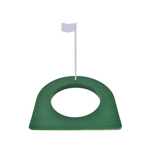 GOLF-In-Outdoor-Regulation-Putting-Cup-Hole-Putter-Practice-Trainer-Aid-Flag-HXI