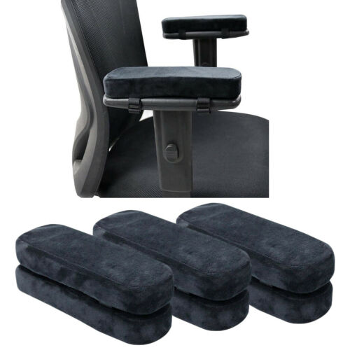 6x Chair Armrest Covers Arm Rest Pillow Home Desk Chair Elbow Relief Pads