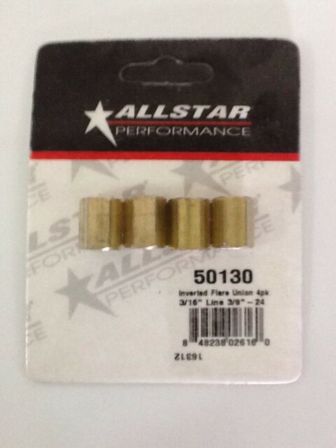 Allstar Performance ALL50130 3//16 Inverted Flare Union