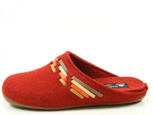 Haflinger Everest Tape Pantoffeln Hausschuhe Damen Wolle 483067 wv48qU