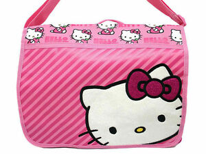 0830b413f48a Image is loading Sanrio-Hello-Kitty-Messenger-Diaper-School-Shoulder-Bag-