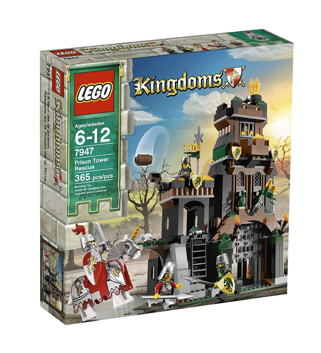 Lego Kingdoms Prison Tower Rescue 7947  retired
