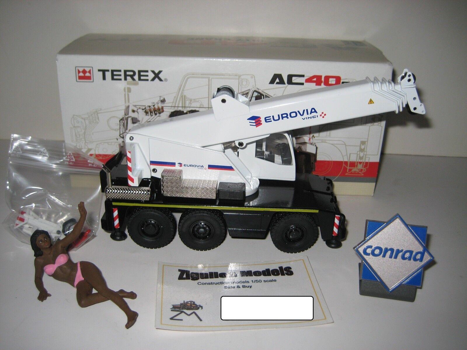 TEREX AC 40 CITY AUTOKRAN AUTOKRAN AUTOKRAN EUROVIA CONRAD 1 50 OVP ebdba5