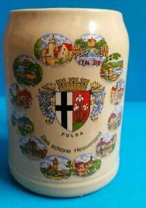 Glazed-Ceramic-Fulda-German-Beer-Stein