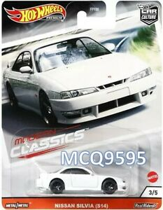 Hot Wheels Premium Modern Classics Nissan Sylvia S14