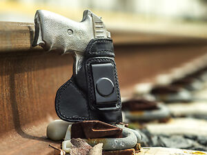 SCCY CPX-2 IWB LEATHER TUCK-ABLE CONCEALED CARRY HOLSTER BY ACE CASE USA MADE