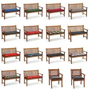Bankauflagen-Sitzkissen-Kissen-Auflagen-fuer-Gartenbank-Bank-Sessel-Bankauflage