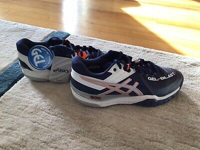 Asics Gel Blast 6 Indoor Court Shoes Navy Blue (Size 8.5 Mens)   eBay