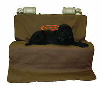 Mud River Two Barrel Double Seat Cover Brown Size Xl Truck Dog Protection