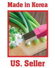StainlessSteel ménage cuisine oignon Cutter Coupe-légumes Scallion Shredder