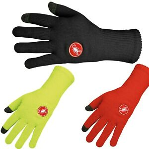 Castelli-Prima-Winter-Cycling-Gloves-Red-Yellow-Size-S-M-XXL
