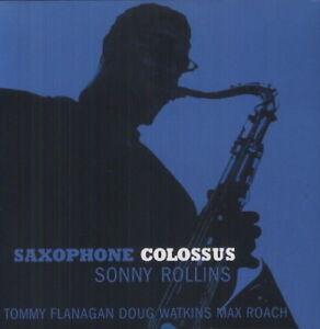 Sonny-Rollins-Saxophone-Colossus-New-Vinyl-LP-180-Gram