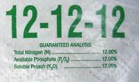5 Lb Granular Fertilizer 12-12-12 Slow Release Perfect For Flowers & Vegetables