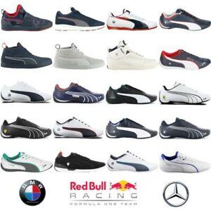 Puma-Motorsport-Uomo-Sneaker-Scarpe-Bmw-Mercedes-AMG-Ferrari-Red-Bull