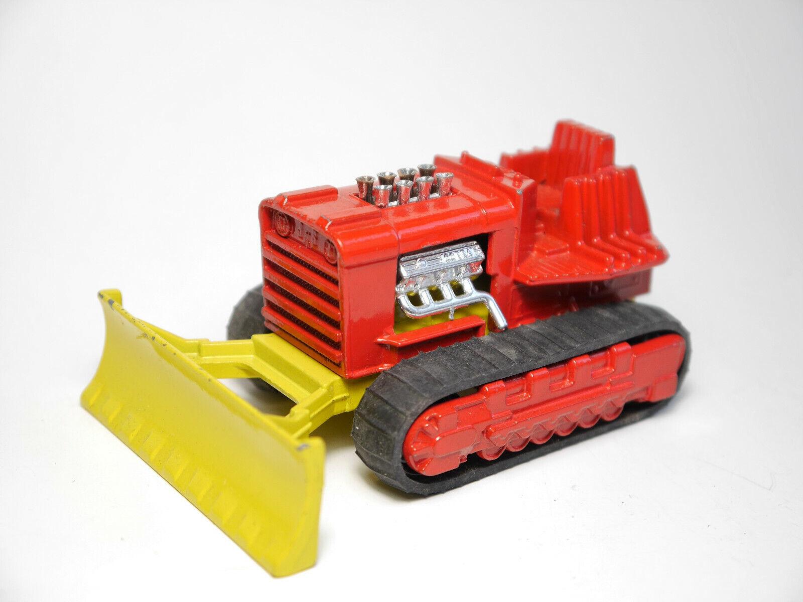Chenille Tractor Bull Bull Bull CATERPILLAR unicellulaire Super Bulldozer, Matchbox King Taille k-23 4d155b