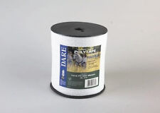 USA Dare 1/2 Inch Poly Electric Fence Horse Tape 1312ft  Equine Portable Fence